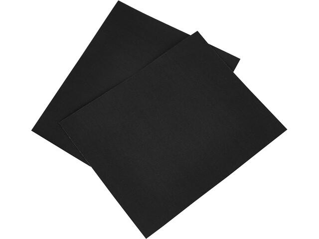 CAMPZ Parches Reparadores Nylon 2 Piezas, negro